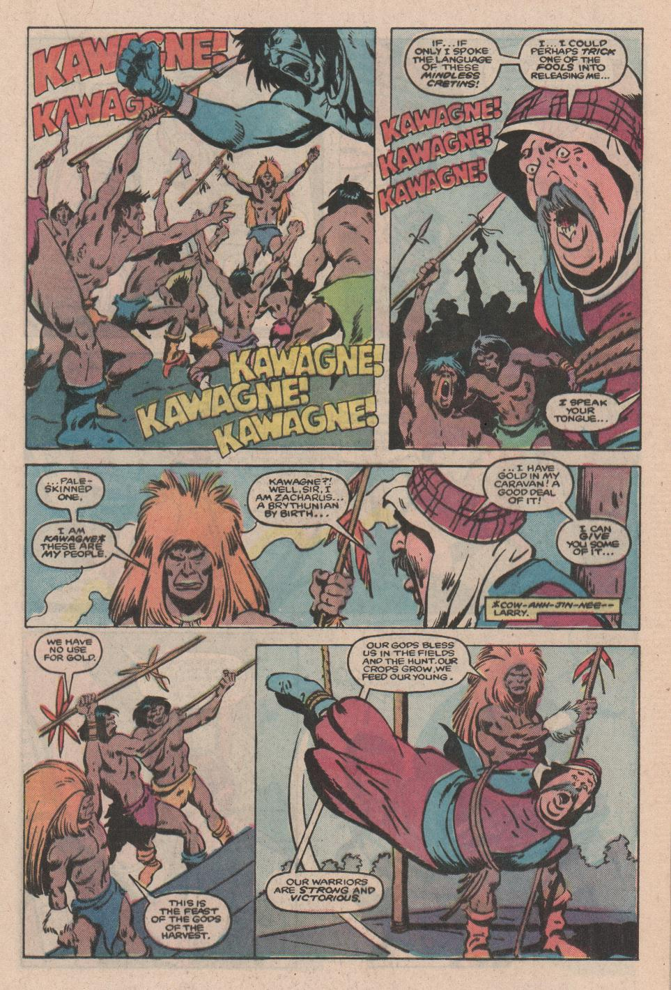 Conan the Barbarian (1970) Issue #172 #184 - English 12