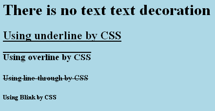 Make Program Easy: Decorate text using CSS