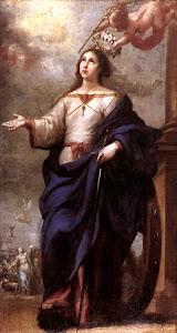 Santa Catarina de Alexandria, virgem, filósofa e mártir
