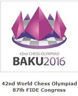 Azerbaijan (Baku) WORLD CHESS OLYMPIAD 2016 (Clic a la Imagen)