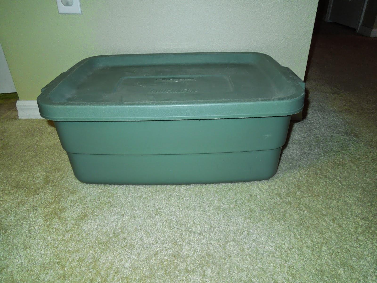 Ugly Green Bin