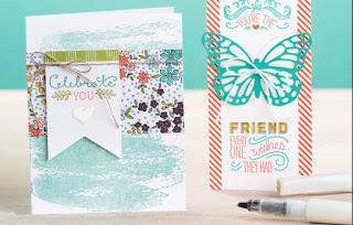 Wink of Stella Glitter Brush zena kennedy independent stampin up demonstrator