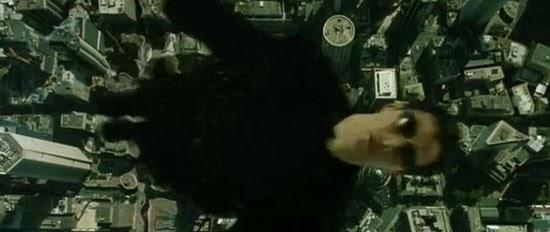 matrix Neo asciende a los cielos