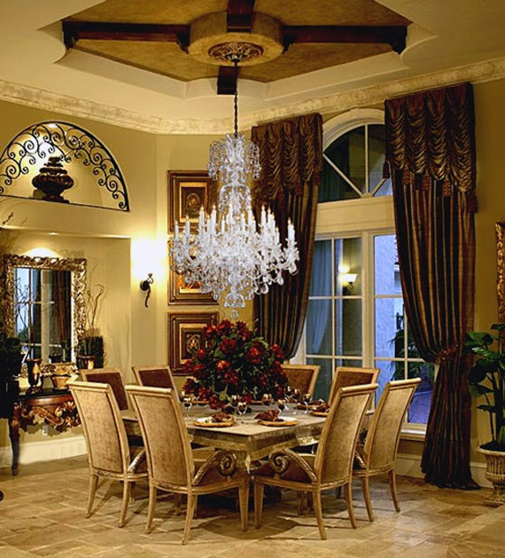 dining room chandelier height above table