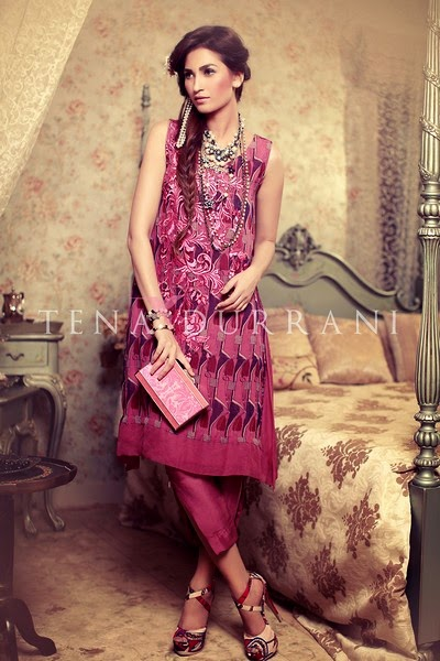 Tena Durani Bridal Eid Collection 2014
