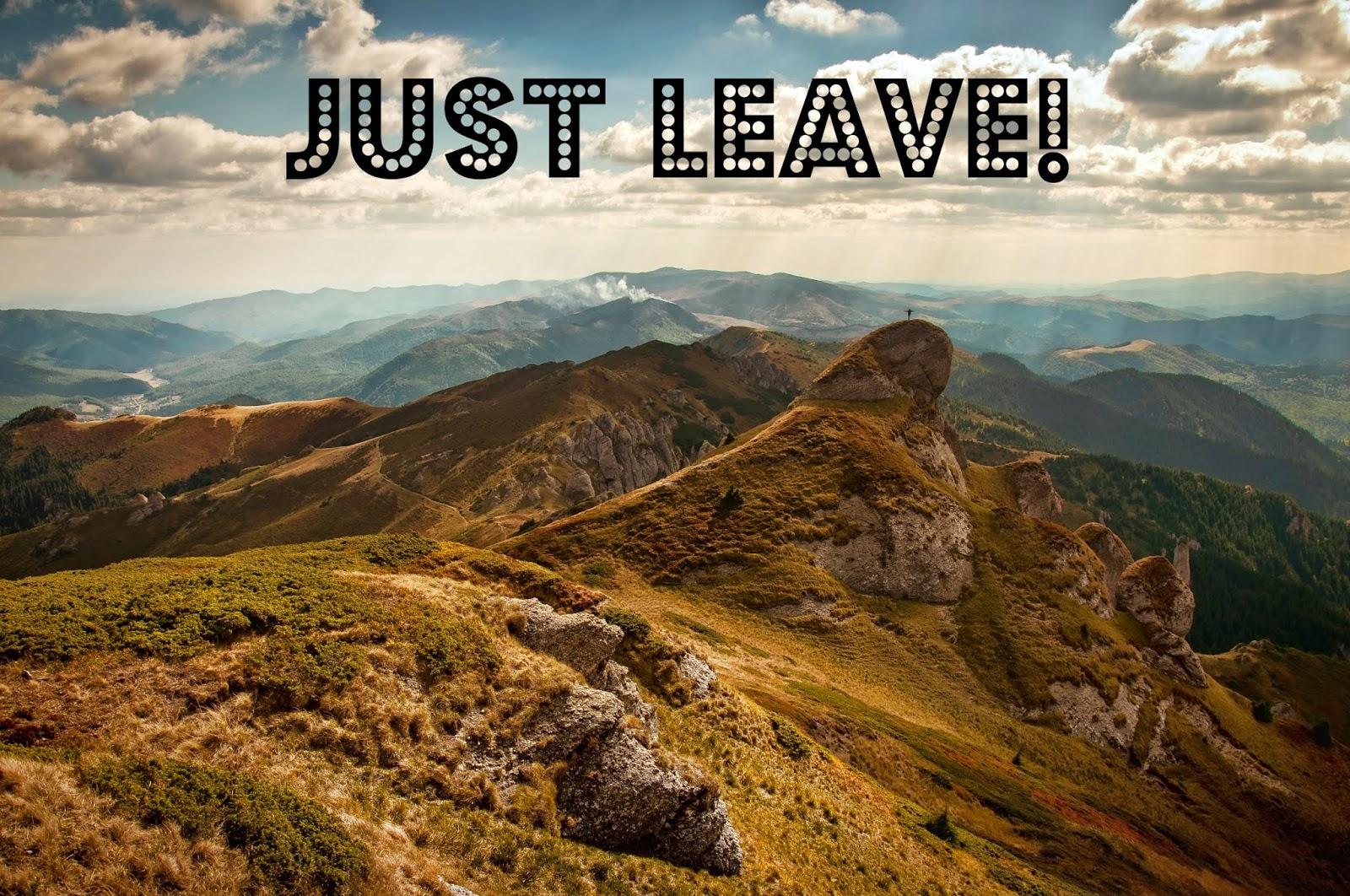 Just leave! @Elisa Chisana Hoshi