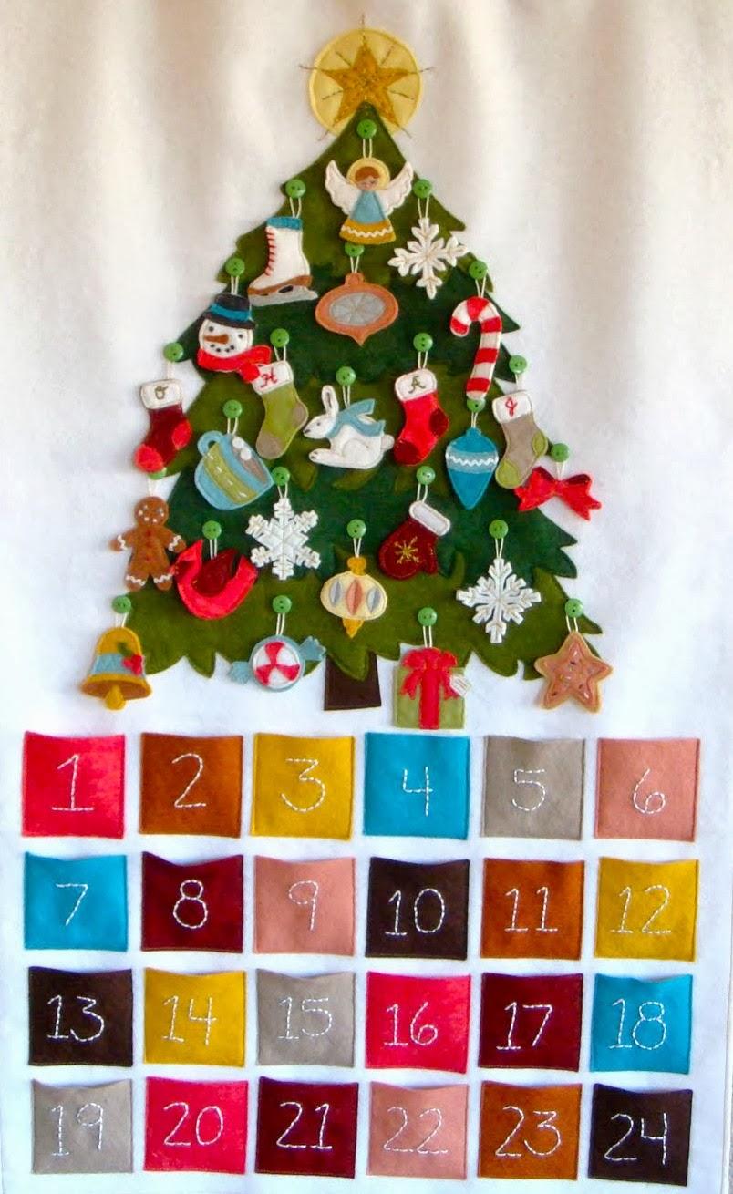 Адвент календарь детям своими руками