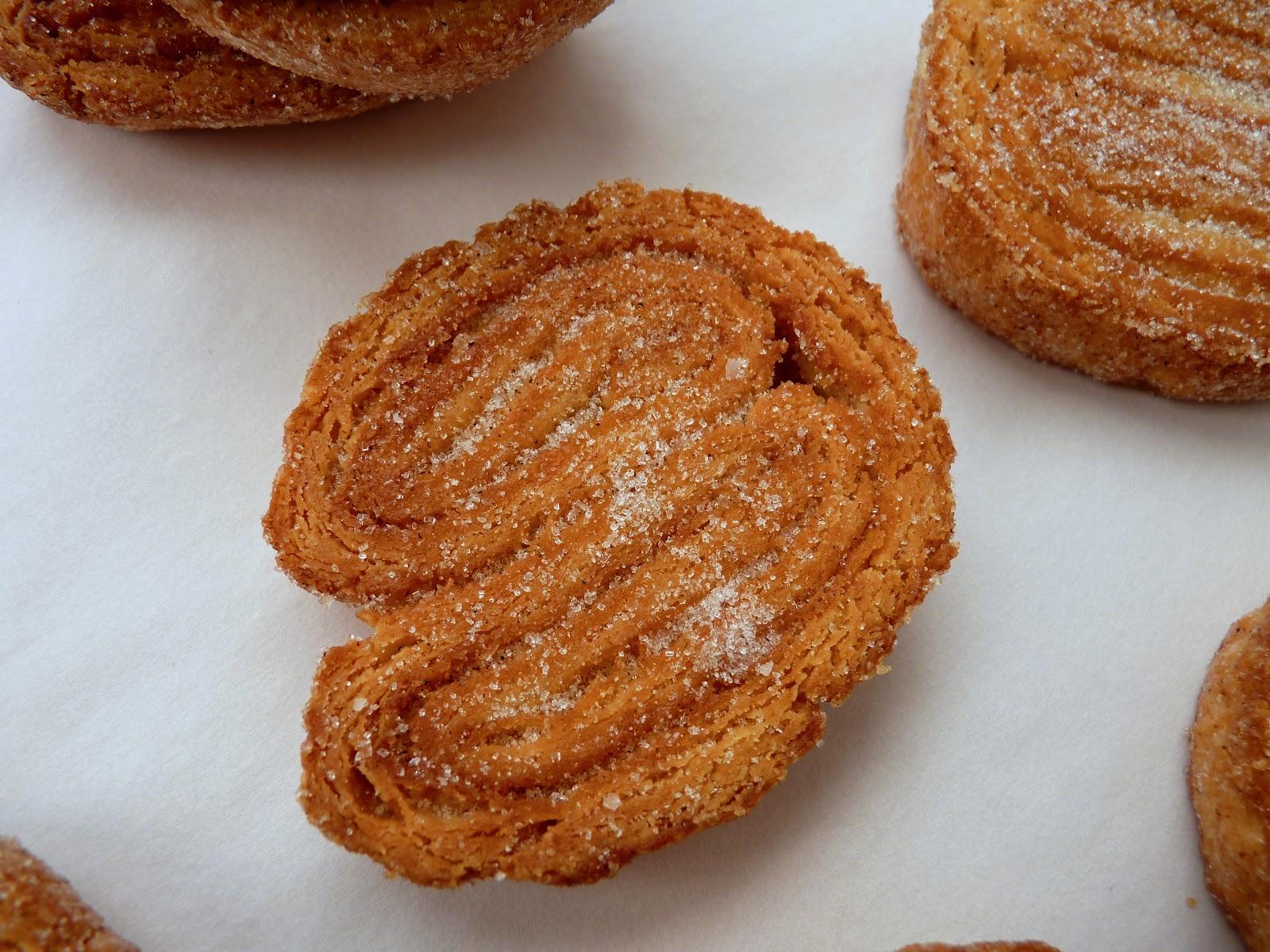 pastry studio: Caramel-Glazed Cardamom Palmiers