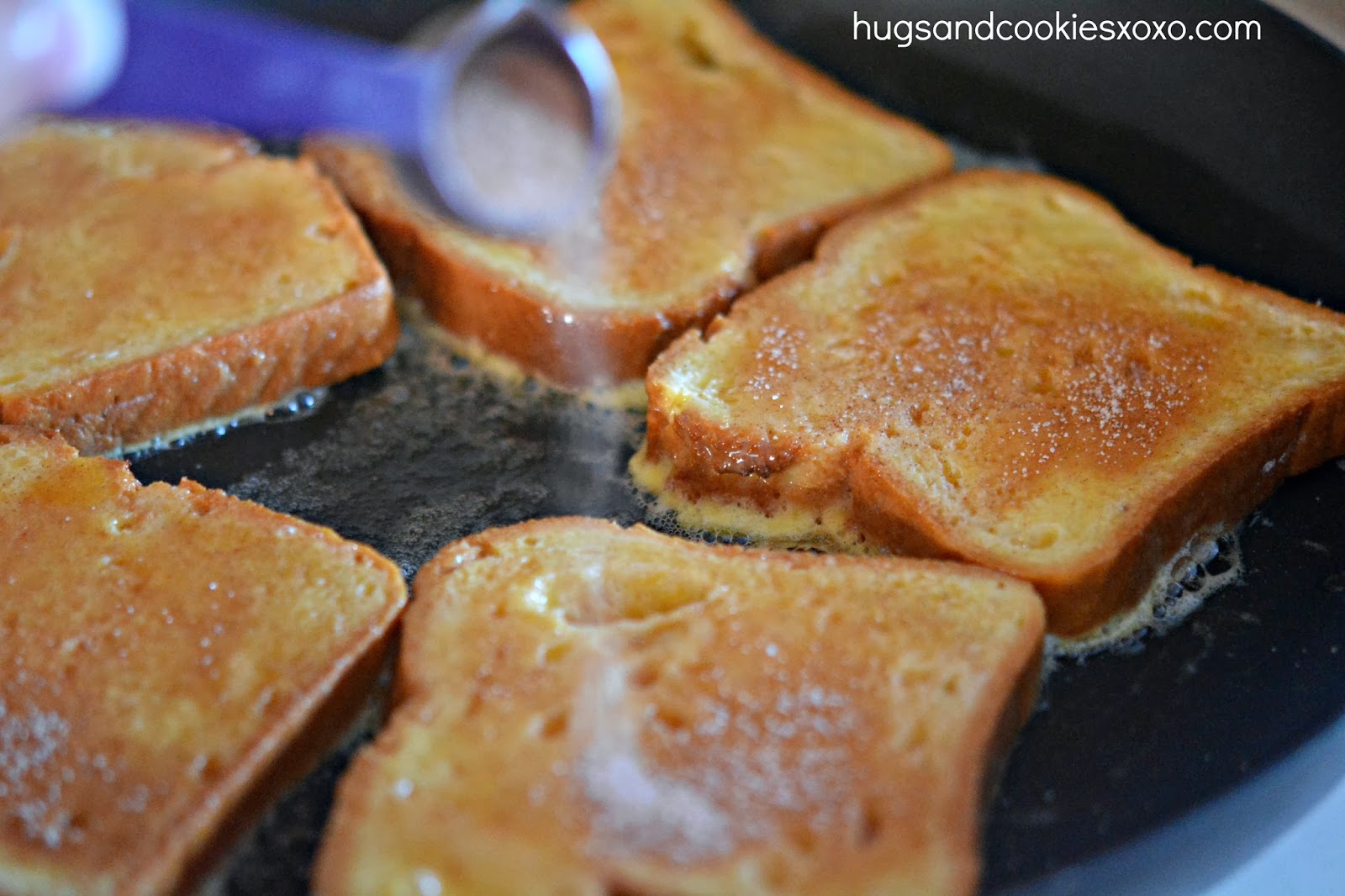 This cinnamon and sugar french toast is a perfect weekend breakfast ...