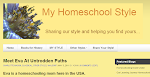 "This blog has been featured on ""My Homeschool Style"":"