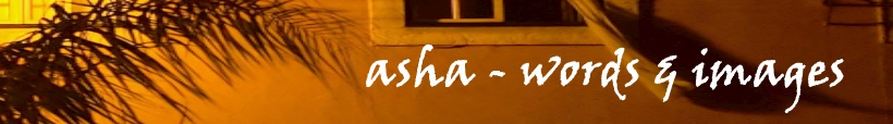 Asha - words & images