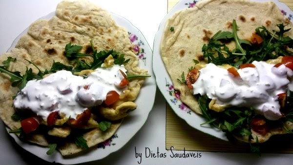 Alimentação saudável: tortilla caseira