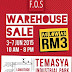 3 - 7 Jun 2015  FOS Warehouse Sale