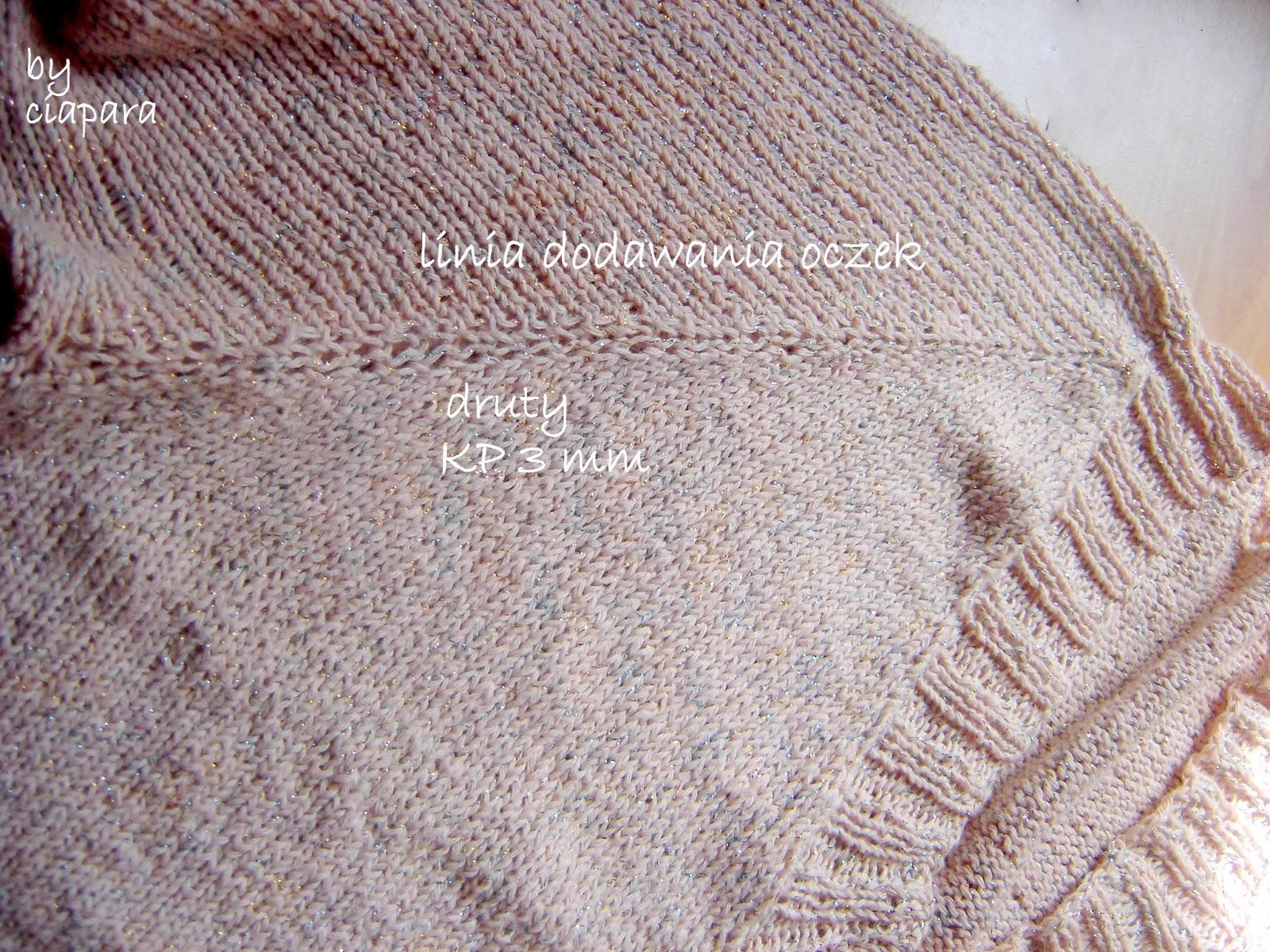 http://mojerobotkowanie.blogspot.com/2014/05/sweter-robiony-od-gory-linia-dodawania.html