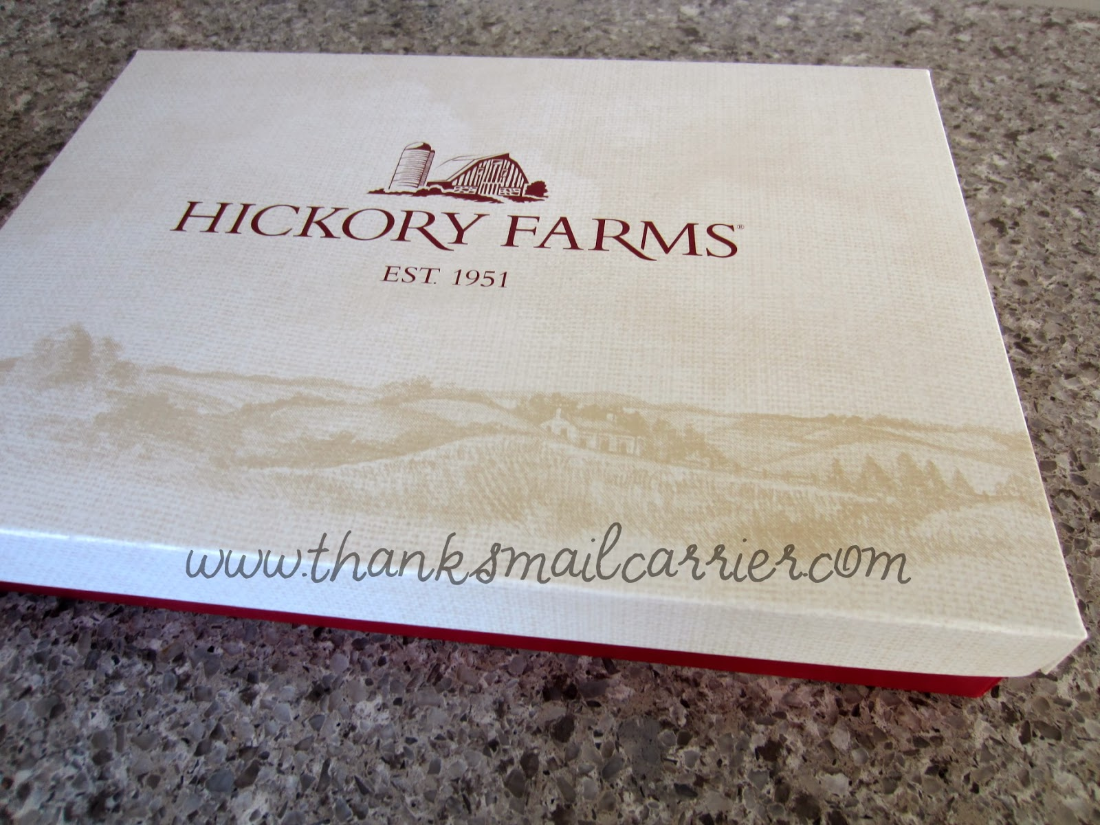 Hickory Farms box