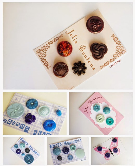 bouton vintage boutons anciens www.cocoflower.net