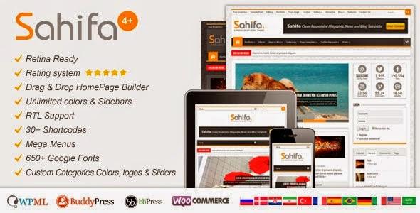 Sahifa v4.2.2 Responsive WP News Magazine Blog Theme