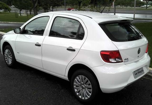 Volkswagen Gol G5 2011 1.0 Trend - consumo