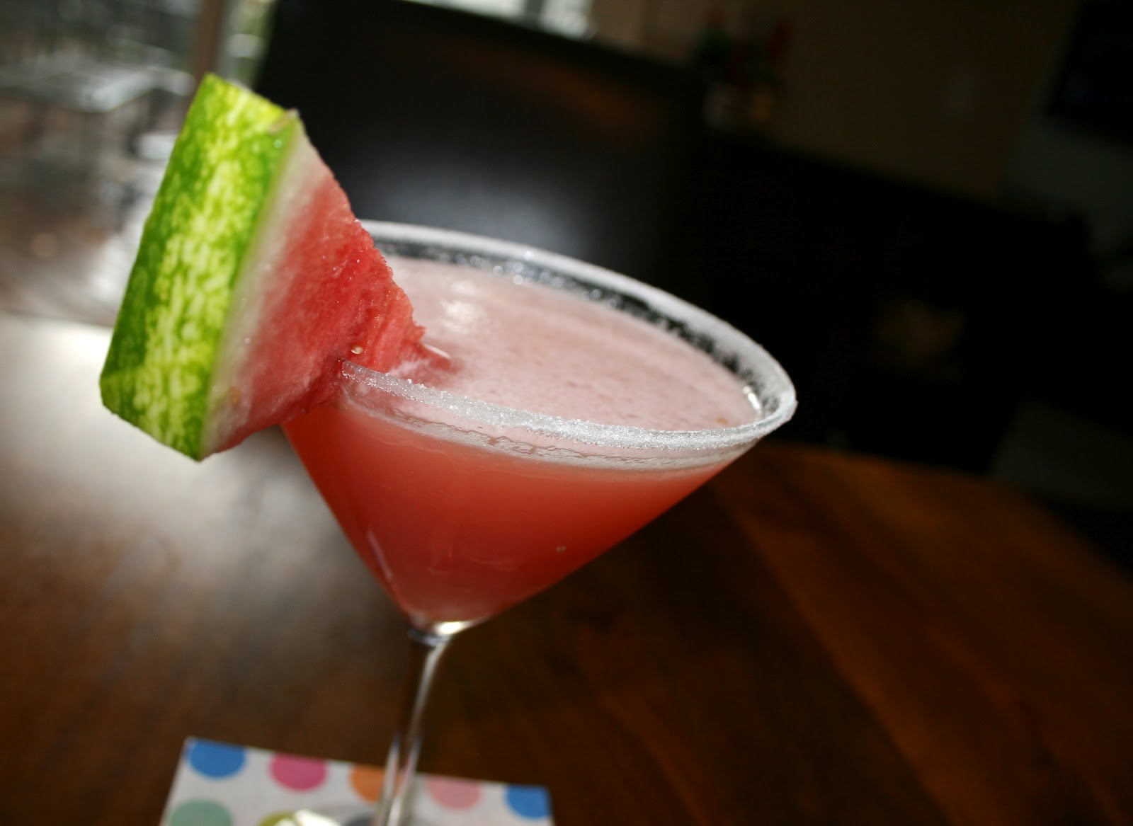 Wren's Rambles: Sour Watermelon Martini