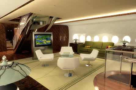 Eminem a380 airbus interior for Airbus a380 interior