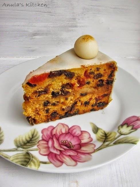 Anula's Kitchen: Simnel cake...