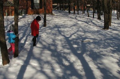 Tips & Simple Activities for Getting Kids Outdoors in the Winter!