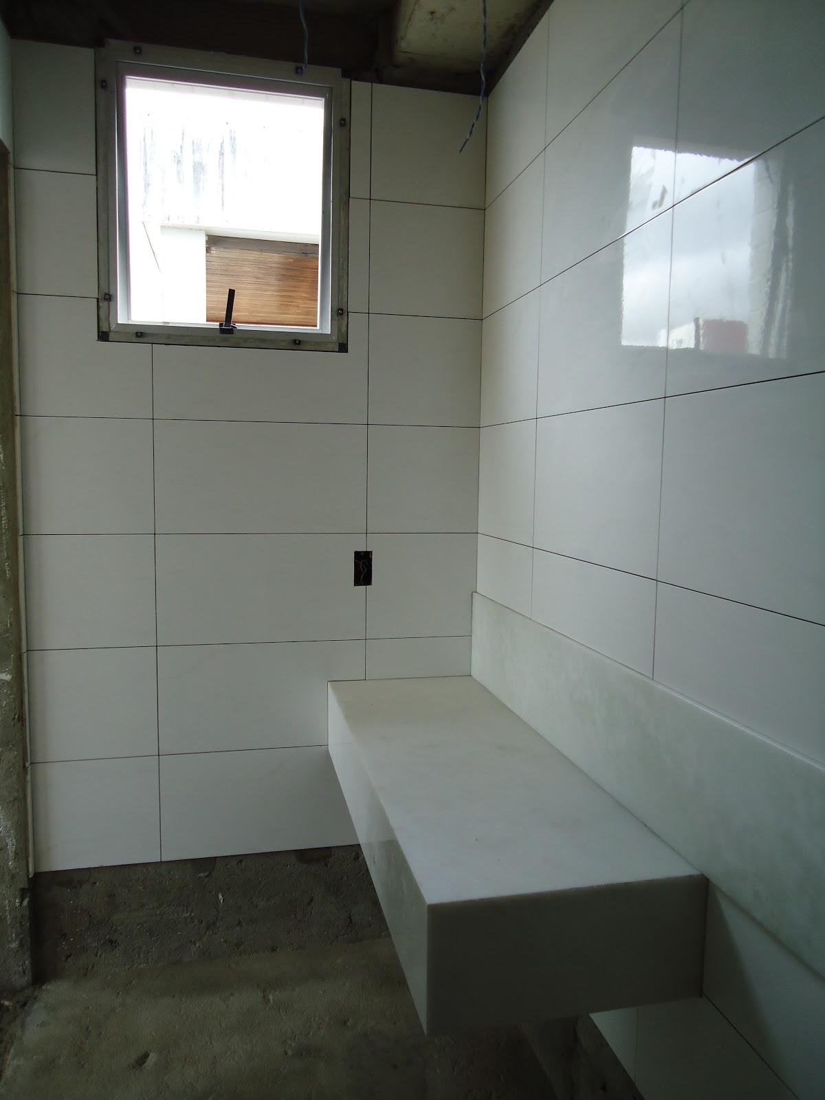 Como se começa uma FAMÍLIA: Banheiro Casal Fotos (durante) #826549 1200x1600 Bancada Banheiro Saia