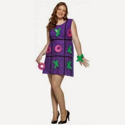 Disfraz de Tres en Raya Mujer