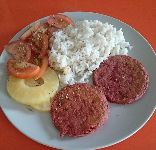 Key dance sustitutos de la carne for Natural burguer mesa y lopez