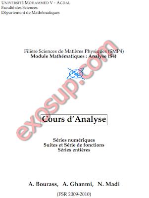 Séries numériques Suites et Série de fonctions Séries entières