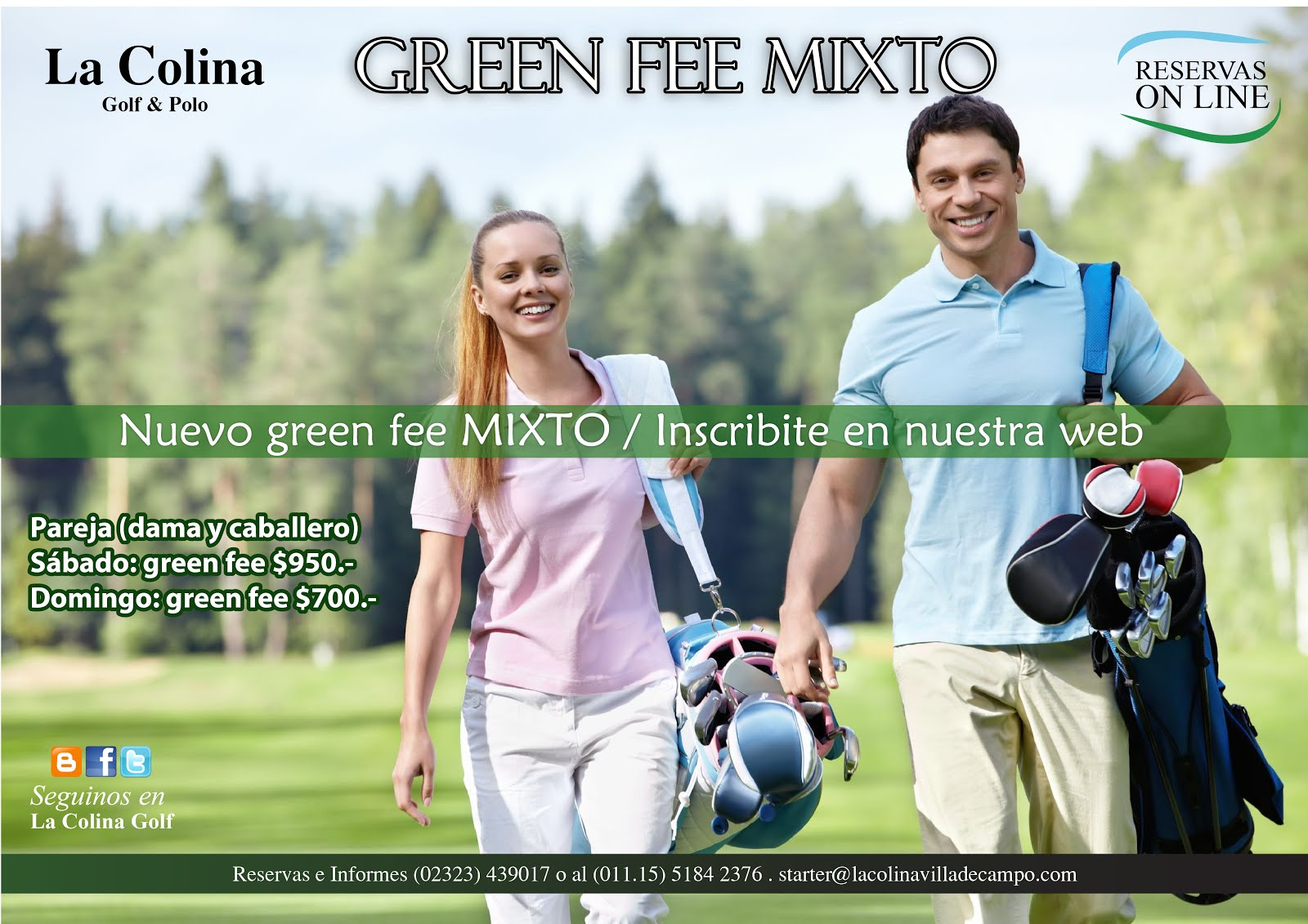 GREEN FEE MIXTO