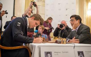 Échecs : Anand 1/2 Carlsen dans la ronde 5 du Zurich Chess Challenge - Photo © site officiel