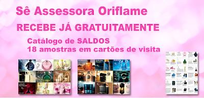 Oriflame - Amostras Grátis