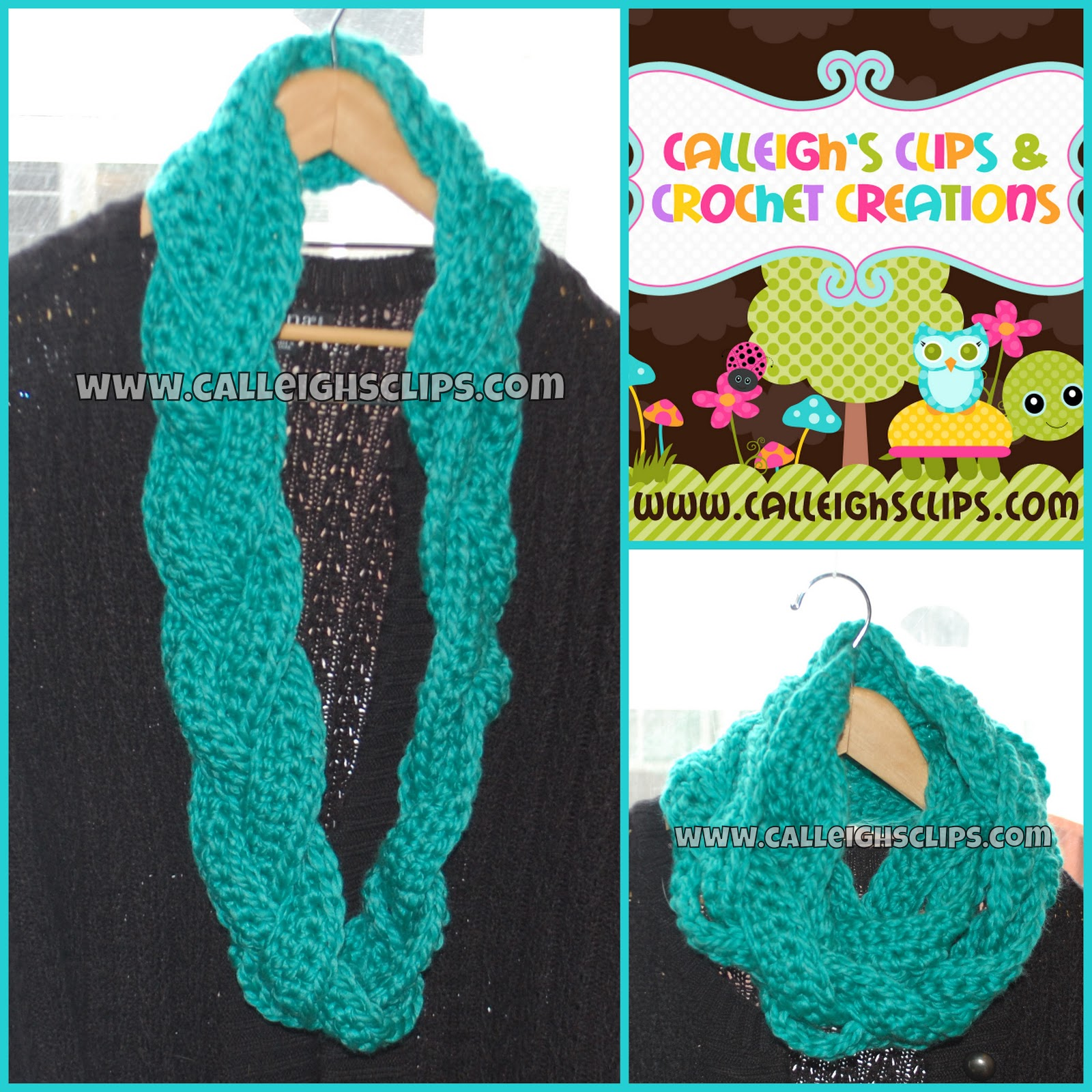 Calleigh\'s Clips & Crochet Creations: Free Crochet Pattern - Chunky ...