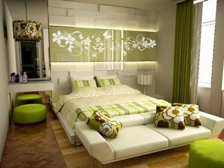 natural bedroom with elegant look