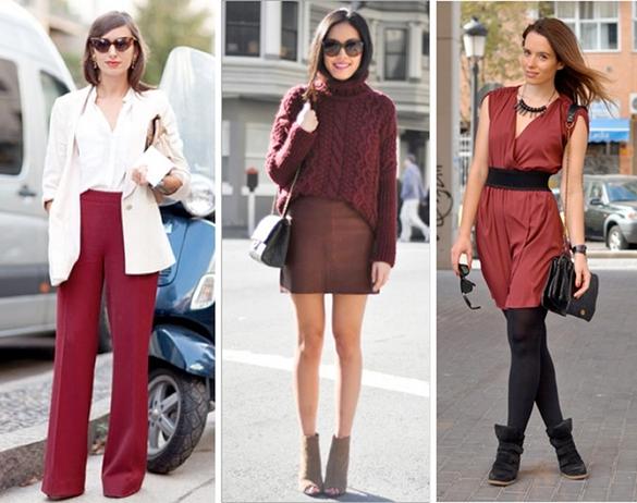 moda burgundy