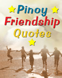 Tagalog Quotes About Friendship Inspiration Tagalog Friendship Quotes  Boy Banat