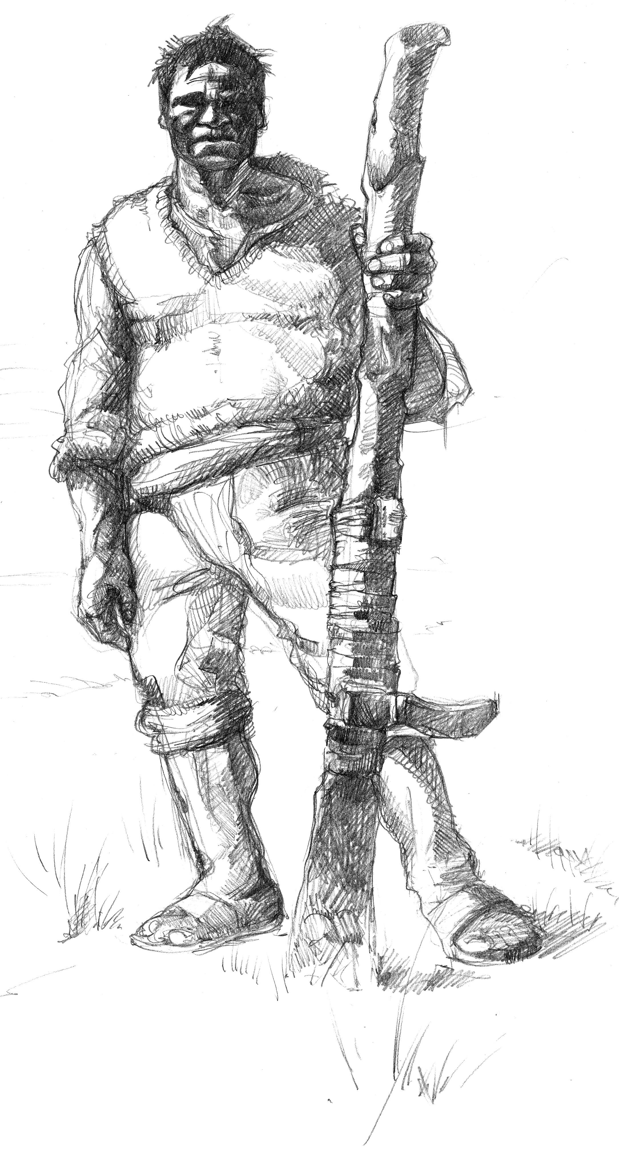 Hombre con Tirapié