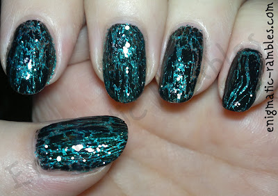 st-patricks-day-nails-nail-art-ireland-irish-w7-green-dazzle-mua-jailbreak-enigmatic-rambles