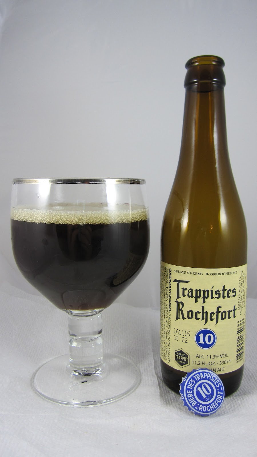 Chad'z Beer Reviews: Trappistes Rochefort 10