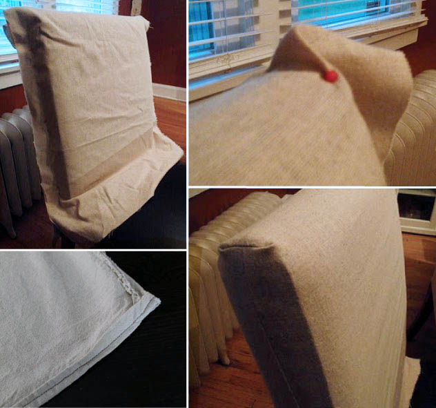 DIY Halloween Themed Gravestone Dining Room Chair Covers