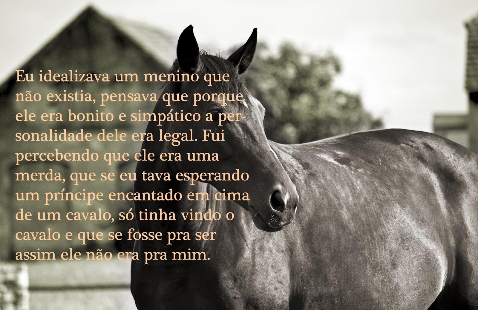 Elegante Fotos De Cavalos Com Frases Para Capa Do Facebook Frases