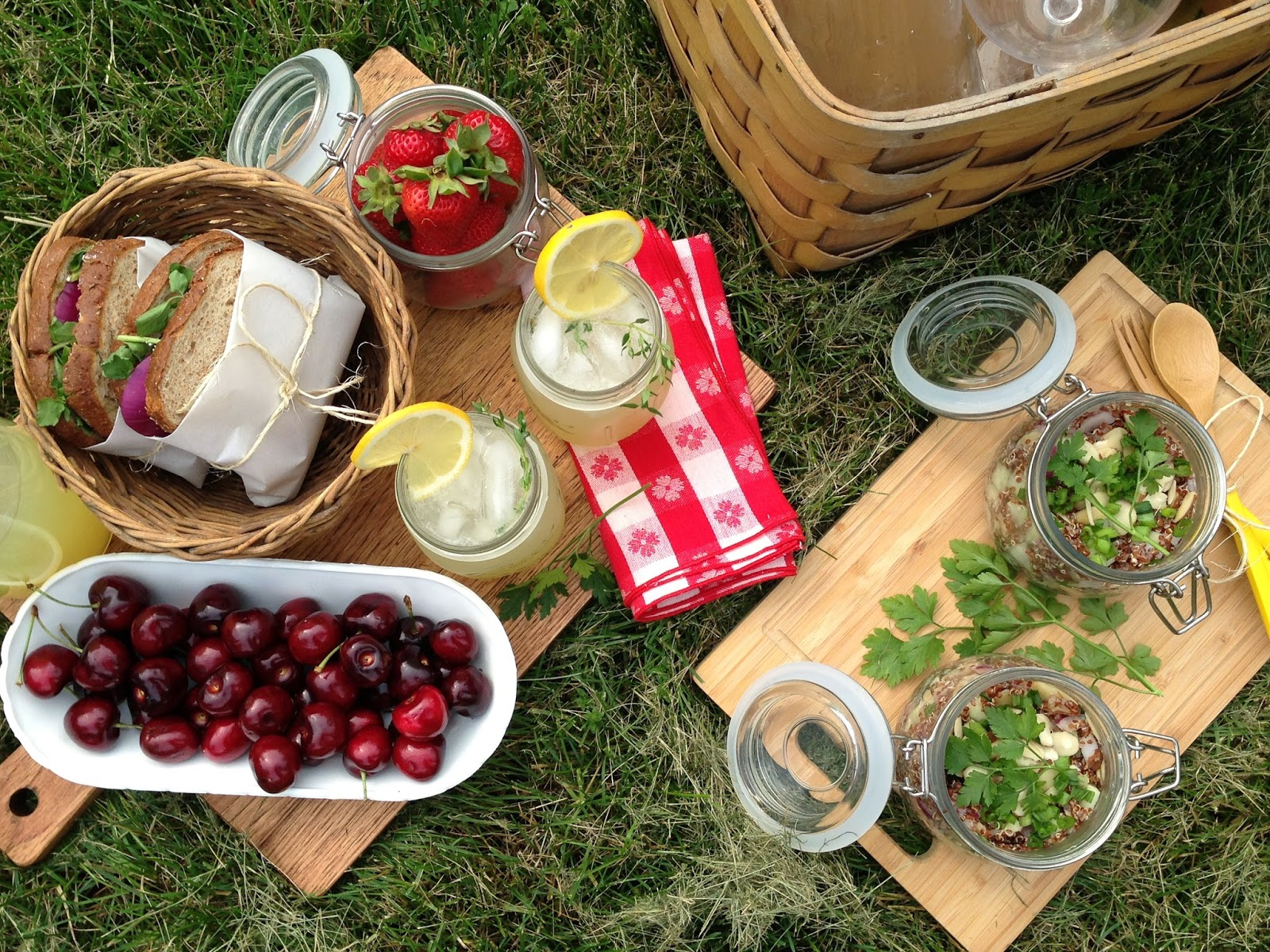 Entertaining Picnic For Two 2812 on italian lemonade