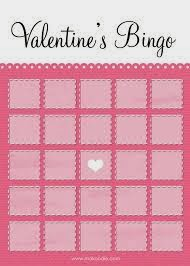 Printable Valentines Day Bingo Cards 1