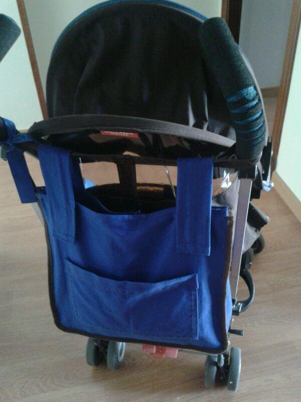 El caracol bolso para silla de paseo for Silla ligera maclaren