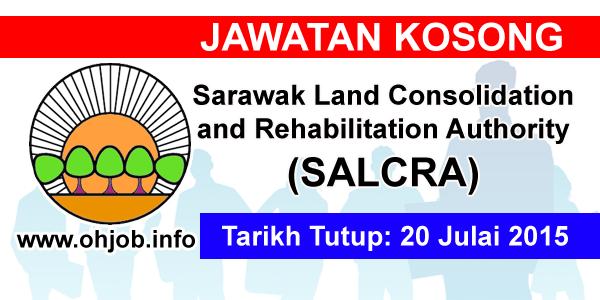 Jawatan Kerja Kosong Sarawak Land Consolidation and Rehabilitation Authority (SALCRA) logo www.ohjob.info julai 2015