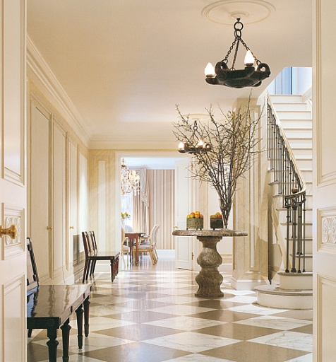 Dramatic Foyer Lighting : Foyer fabulosity part ii the enchanted home