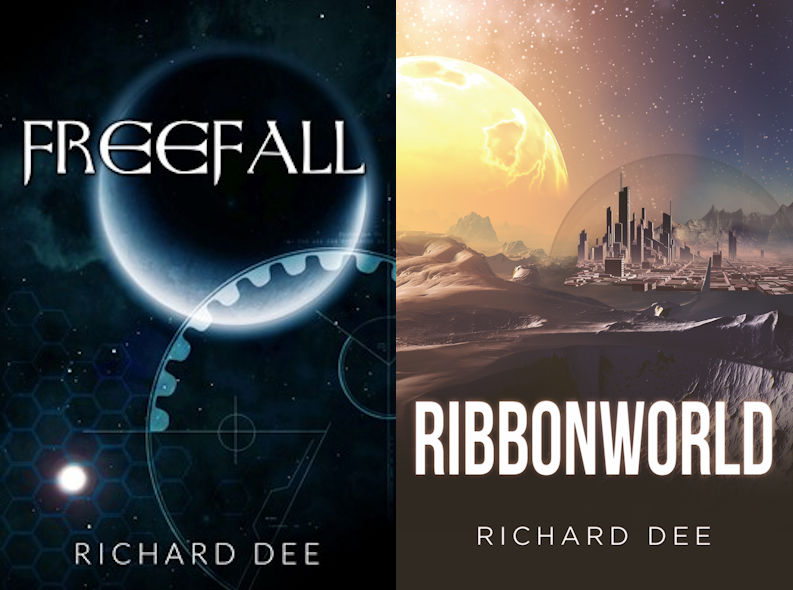 My Author Website, Try my Sci-fi Novels