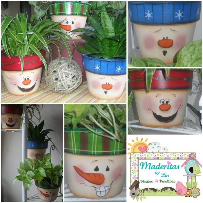 Maderitas by lin septiembre 2012 for Cactus navideno