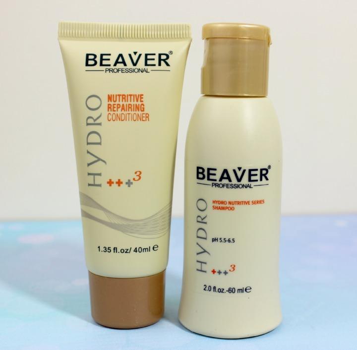 Beaver Professional Hydro Nutritive Moisturizing Shampoo & Conditioner samples birchbox